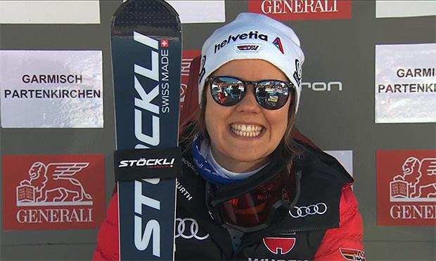 Viktoria Rebensburg geht zuversichtlich in die kommende Ski Weltcup Saison.