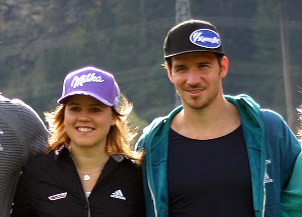 Viktoria Rebensburg und Felix Neureuther mit Goldenen Ski ausgezeichnet (Foto: Walter Schmid / Skiweltcup.TV)