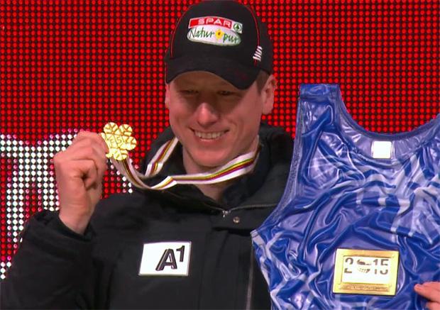 SKI WM 2015: Hannes Reichelt ist Super-G Weltmeister
