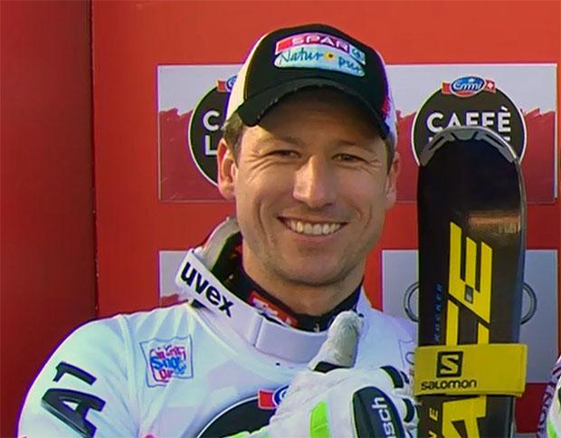Hannes Reichelt meldet sich in Garmisch mit Trainingsbestzeit zurück