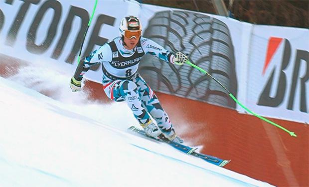 Hannes Reichelt gelang beim Super-G in Santa Caterina der Sprung auf das Podest.