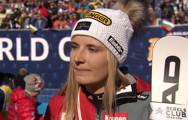 Elisabeth Reisinger bei italienischen Dreifachsieg in Bansko auf Platz sieben.