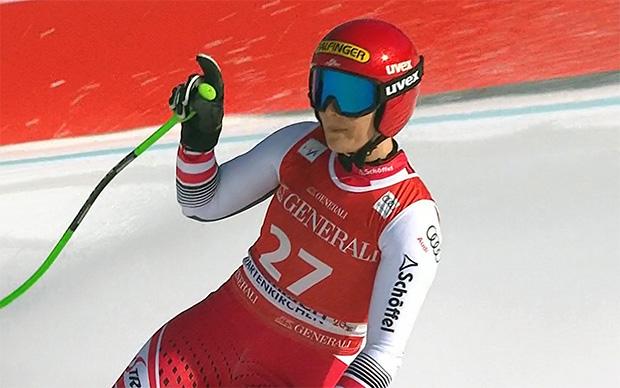 Elisabeth Reisinger beste Österreicherin bei Abfahrt in Garmisch