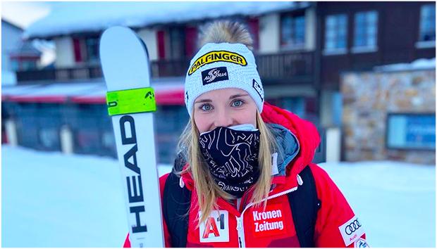 """Elisabeth Reisinger im Skiweltcup.TV-Interview: """"Ich habe mich immer wieder zurückgekämpft."""" (Foto: © Elisabeth Reisinger / Instagram)"""