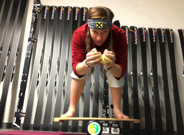 Lisa Maria Reiss trainiert für ein gelungenes Comeback