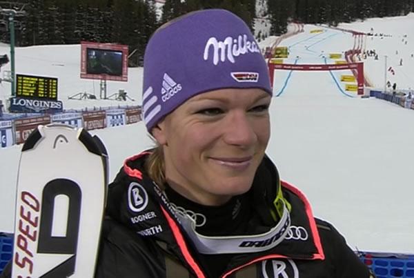 Maria Höfl-Riesch - Gesamtweltcupsiegerin 2010/11