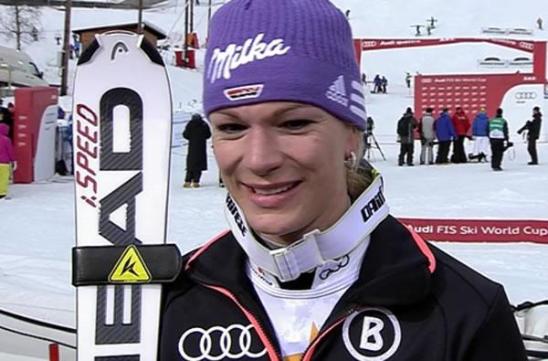 Maria Höfl Riesch geht in Sölden an den Start