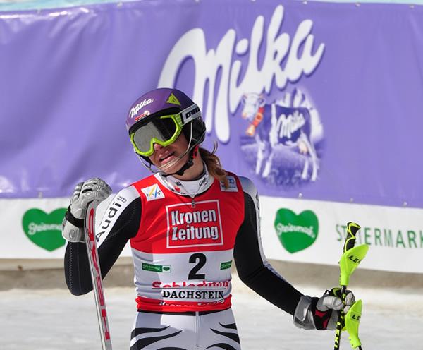 © Christian Einecke (CEPIX) / Höfl-Riesch Achte beim Skiweltcup Finale in Schladming