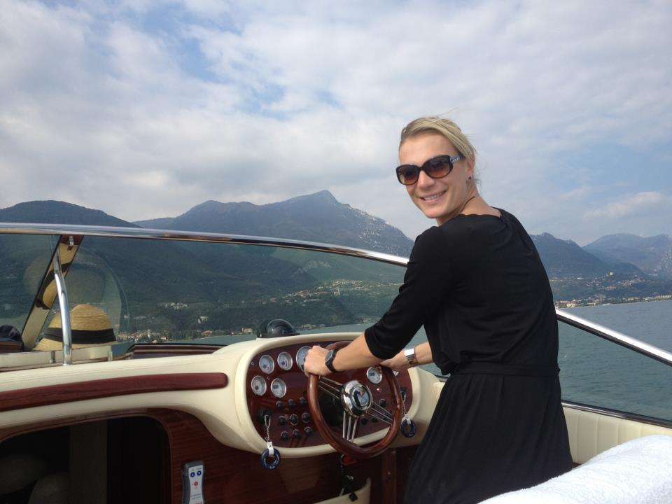 © Maria Höfl-Riesch  /  Bootstour auf dem Lago di Garda