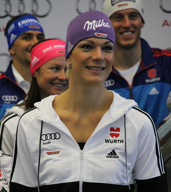 """Maria Höfl-Riesch: """"Im Slalom kann ich mich zur Zeit nur schwer einschätzen"""""""