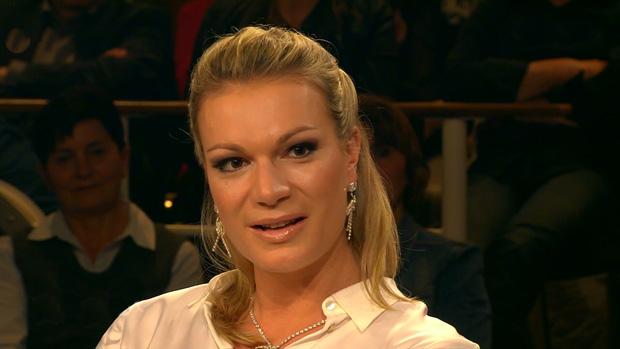 Maria Höfl-Riesch kann ihren Schweinehund nicht immer überwinden