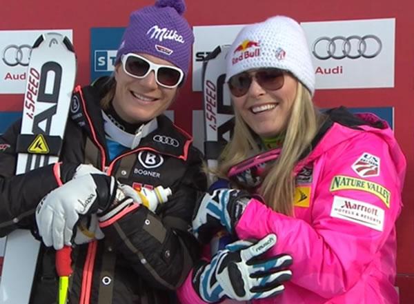 Die Freunde des Alpinen Damen Rennsports können sich am Samstag auf ein spannendes Rennen freuen.