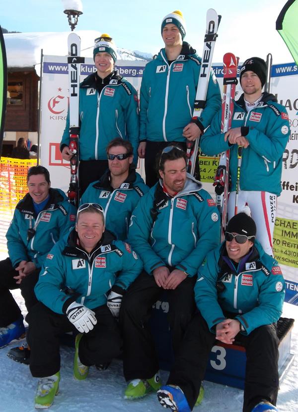 Johannes Strolz gewinnt 2. FIS Riesenslalom in Kirchberg in Tirol