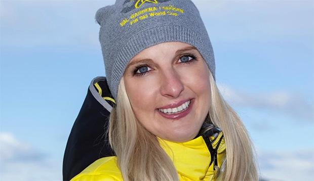 """Claudia Rifesser: """"Nur im Team kann hier alles funktionieren."""" (Foto: © Saslong.org)"""