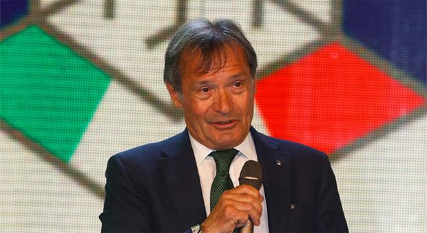 © Archivio FISI /  Flavio Roda als Präsident des italienischen Wintersportverbandes wieder gewählt.