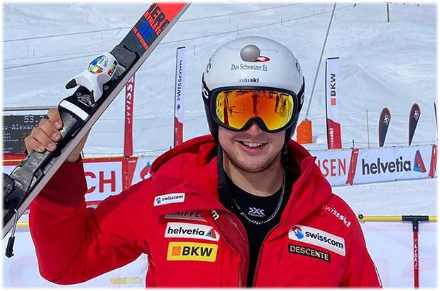 Der Schweizer Super-G-Meister 2021 heißt Lars Rösti (Foto: © Swiss-Ski.ch)