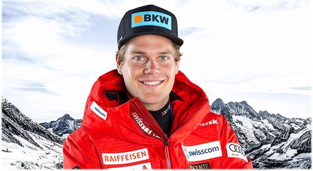 Triumph für Stefan Rogentin beim EC-Super-G in Saalbach-Hinterglemm (Foto: © Swiss-Ski.ch)