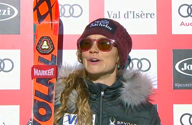 Die Führende nach der Kombiabfahrt, Laurenne Ross, wird beim Kombinations-Slalom nicht antreten.