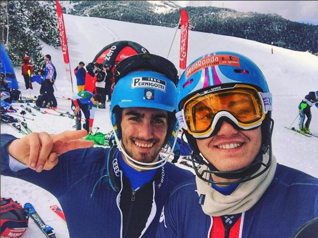 Tommaso Sala und Federico Liberatore (Foto: instagram / Federico Liberatore)
