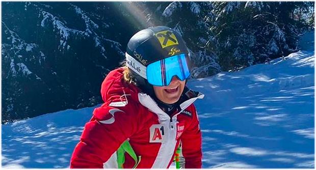 Amanda Salzgeber will im bevorstehenden (Europacup-)Winter durchstarten (Foto: © Amanda Salzgeber / Instagram)