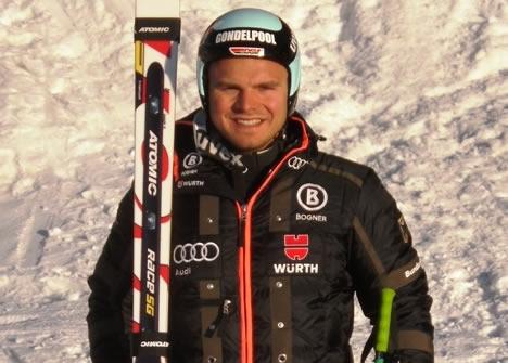 Deutscher Meister in der Abfahrt: Andreas Sander
