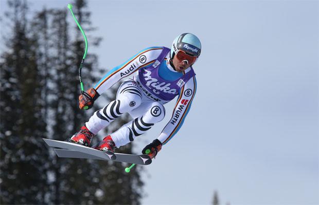 © Kraft Foods  /  Andreas Sander will in Kvitfjell Super-G Weltcupfinale klarmachen.