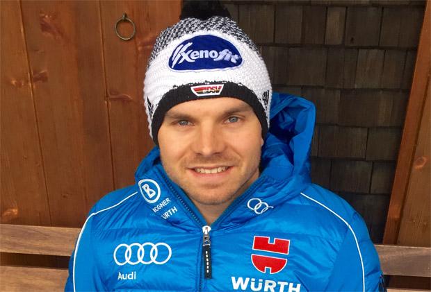 """Andreas Sander im Skiweltcup TV Interview: """"Außer Fußballspielen kann Marcel Hirscher nicht viel von mir lernen."""" (Foto: www.andreas-sander.com)"""