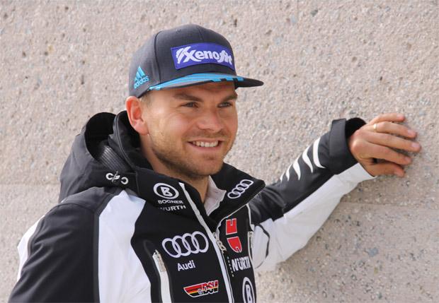 Andreas Sander freut sich über die Geburt seines Stammhalters (Foto: Skiweltcup.TV / Walter Schmid).