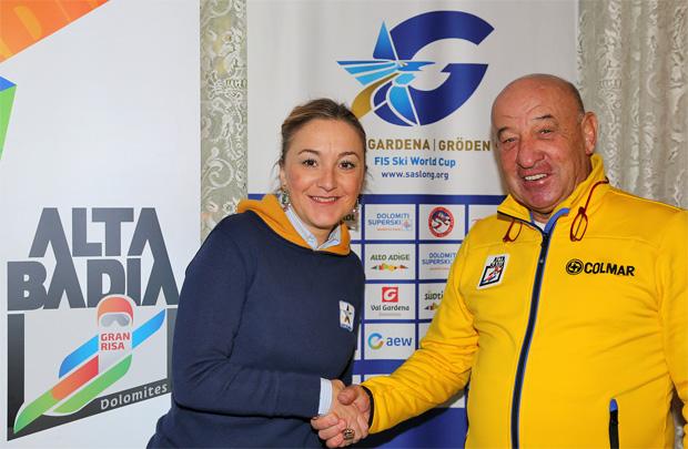 © saslong.org  / Stefania Demetz und Marcello Varallo