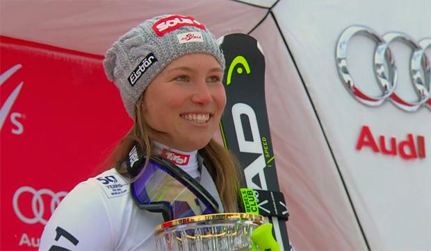 Christine Scheyer, eine der jüngeren im Team, sorgte für den einzigen Sieg.