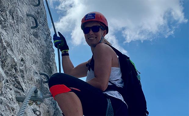 Bei Christine Scheyer geht es wieder bergauf. (Foto: © ÖSV)