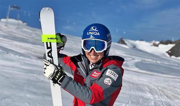 Christine Scheyer steht wieder auf den Skiern (Foto: © Christine Scheyer / Instagram)