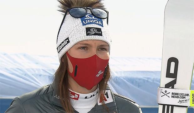 Christine Scheyer musste auf Start beim Super-G von Garmisch-Partenkirchen verzichten.