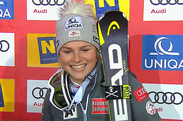 Die Salzburgerin Bernadette Schild konnte sich über Rang 5 freuen.
