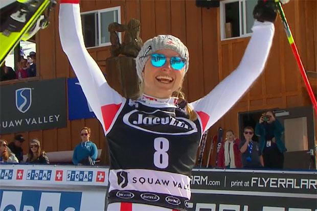 ÖSV NEWS: Bernadette Schild schafft ersehntes Slalompodium