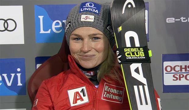 Bernadette Schild beendet den Levi-Fluch und belohnt sich mit Rang 3
