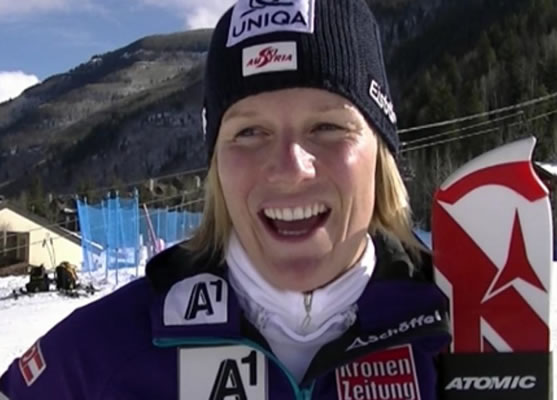 Marlies Schild - Favoritin am Sonntag in Aspen