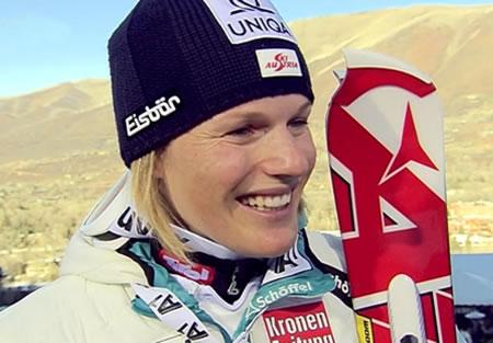 Marlies Schild gewinnt Slalom von Aspen