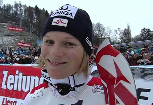 Oft sagen Zahlen mehr als Worte: 4. Slalom -  4. Sieg für Marlies Schild - ihr 33. Weltcupsieg  insgesamt.