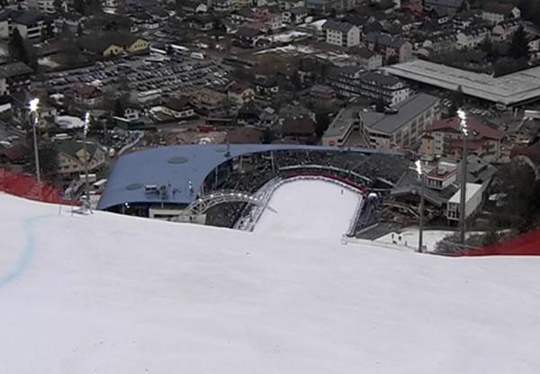 Blick ins Schladminger Zielstadion