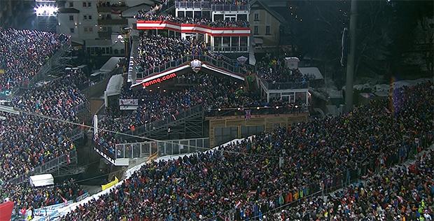 Bilder wie beim Nightrace in Schladming werden wir in der Saison 2020/21 wegen Corona nicht sehen.