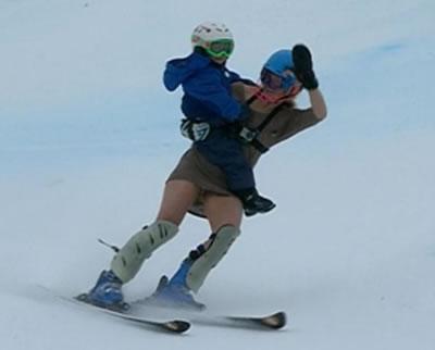 """Sahra Schlepper und ihr Sohn Lasse sagen dem Skiweltcup """"Servus"""""""