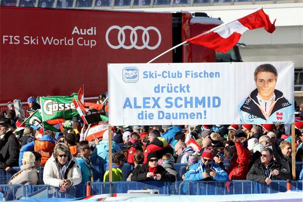 © Gerwig Löffelholz / Der Fanclub von Alex Schmid in Sölden