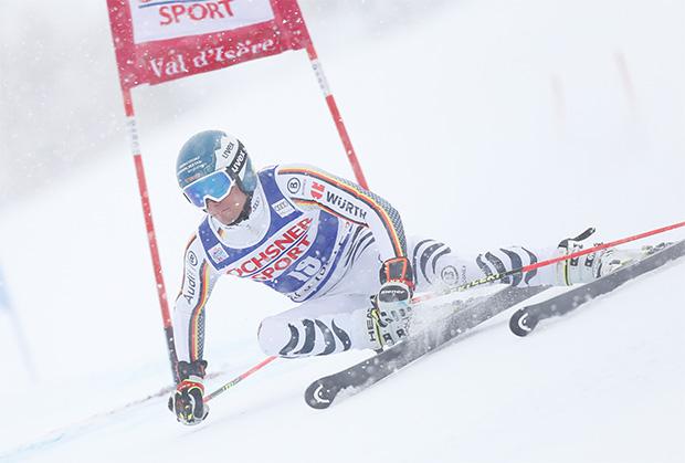Alexander Schmid fuhr in der Saison 2017/18 auf den 6. Platz in Val d'Isere (© HEAD/Alexis BOICHARD/AGENCE ZOOM)
