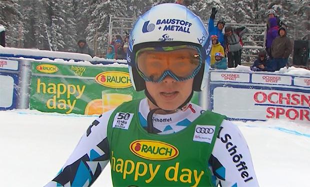 Platz 8 im Super G von Lake Louise: Nici Schmidhofer