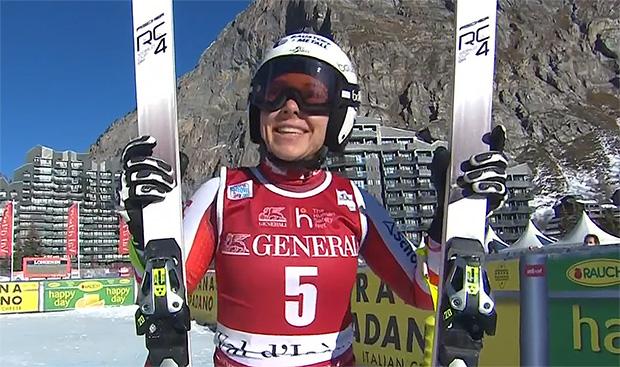 Nicole Schmidhofer ist bereit für den Speed-Auftakt in Val d'Isere.