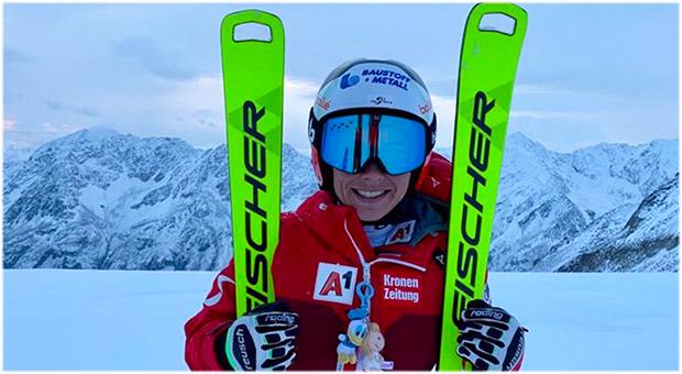 Nici Schmidhofer feiert nach 295 Tagen ihr Schnee-Comeback (Foto: © ÖSV)