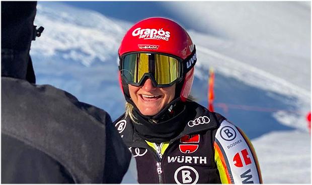 Leni Schmotz freut sich auf das Ski Weltcup Opening in Sölden (Foto: © Leni Schmotz / Instagram)