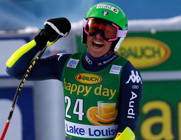 Südtirolerin Hanna Schnarf kann wieder lachen (© Archivio FISI / Marco Trovati - Pentaphoto)