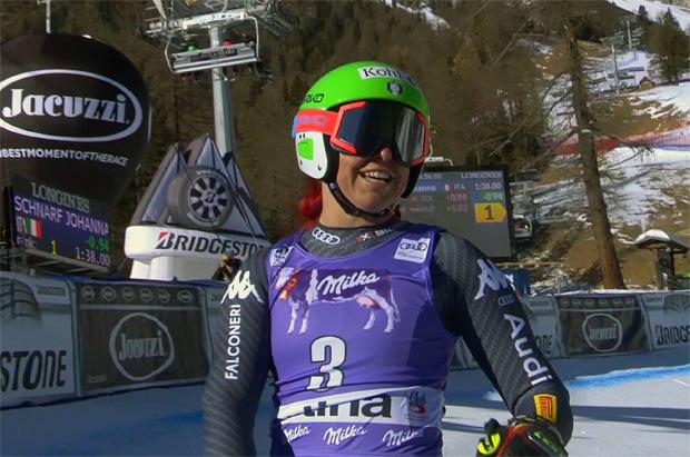 Südtiroler Freundinnen Verena Stuffer und Hanna Schnarf freuen sich über Top-10 Ränge